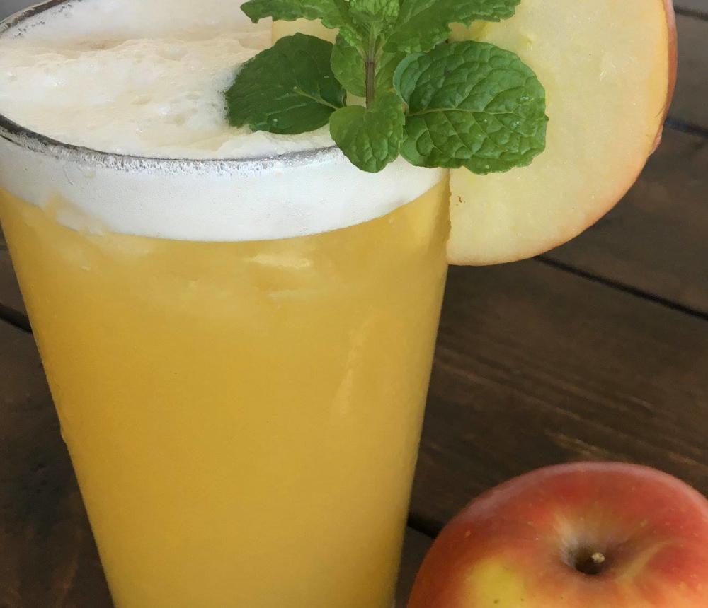 Fresh-pressed juices
