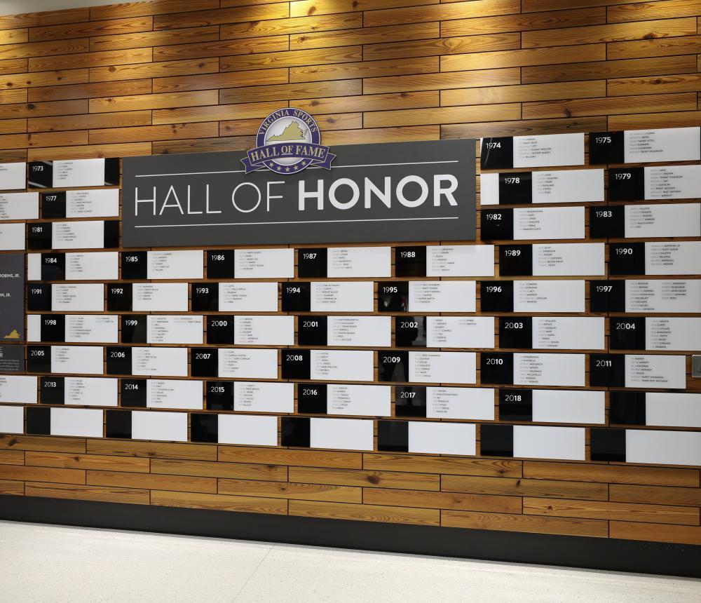 Hall of Honor Exhibit