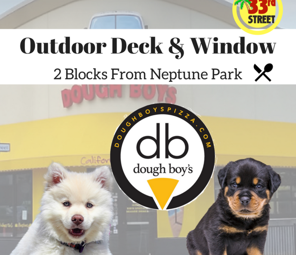 Dog Friendly Outdoor Patio