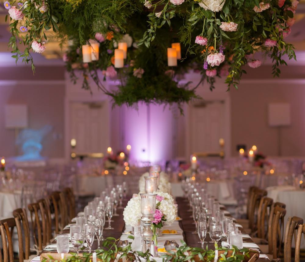 Purple Romance Wedding