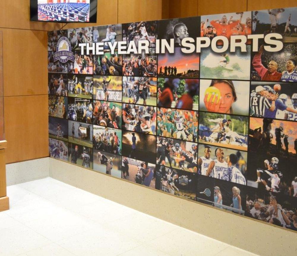 Virginia's Year in Sports Exhibit