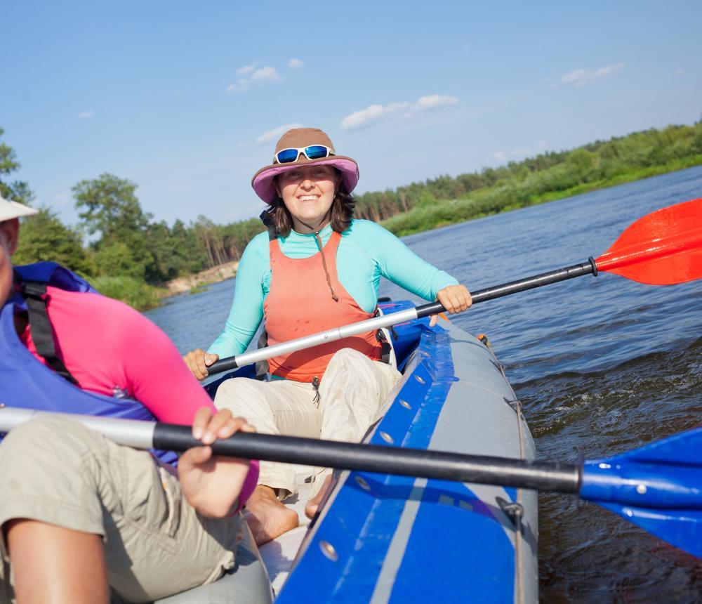 Guided kayak tours in Virginia Beach