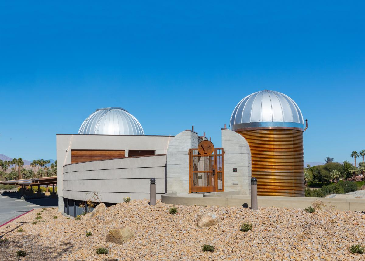 Rancho Mirage Observatory in the Daylight