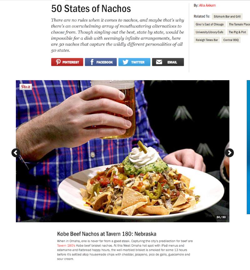 50 States of Nachos - Food Network