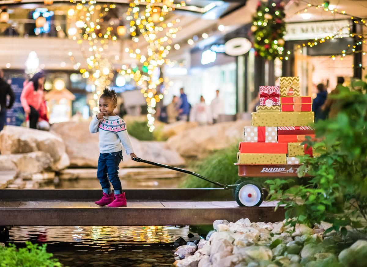 Park at city creek center and get ahead of holiday shopping