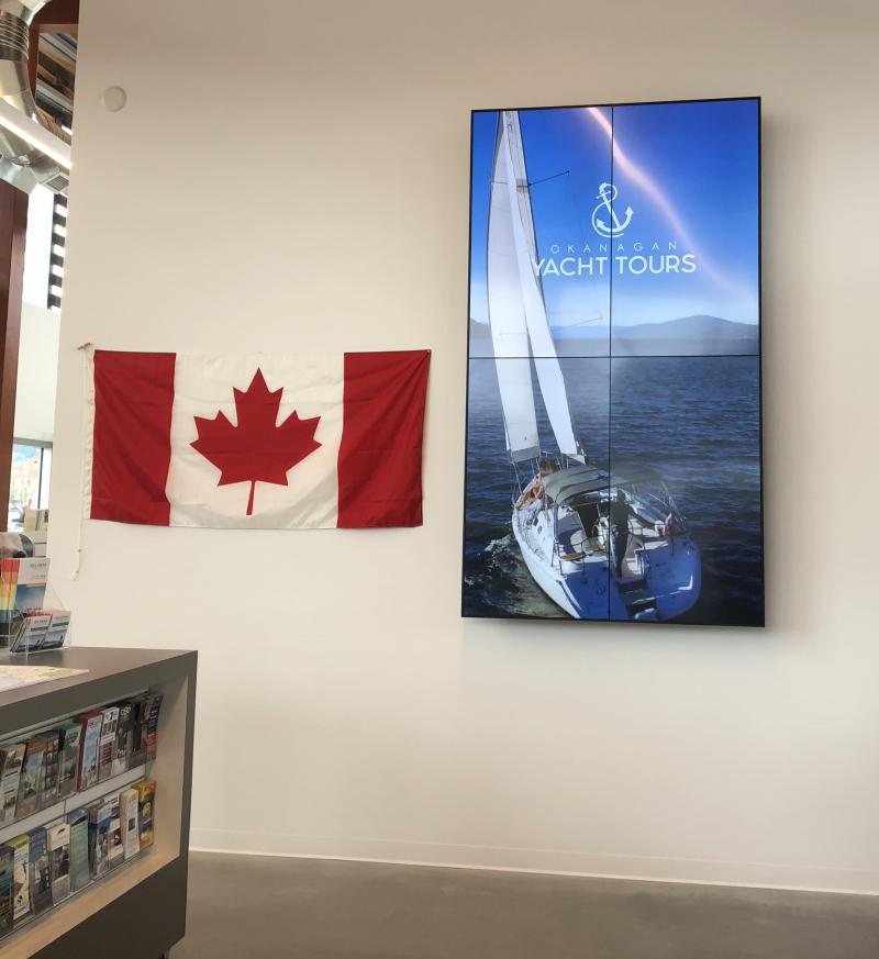 Visitor Centre Display Screen