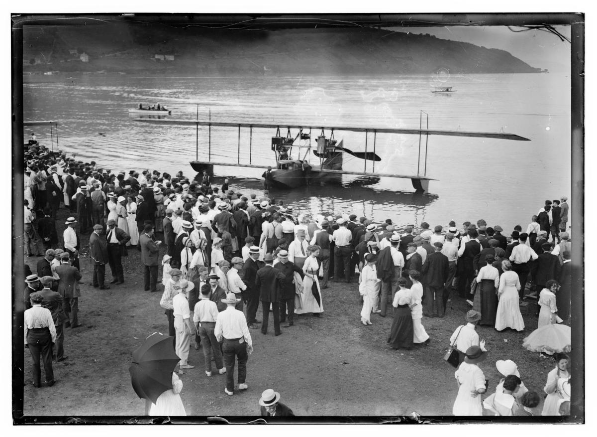 Glenn Curtiss America on Keuka Lake
