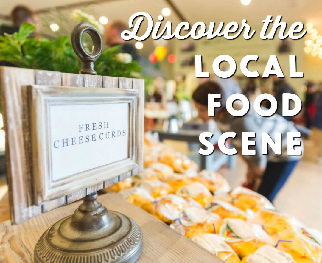 Discover the local food scene in the Stevens Point Area - that goes way beyond the staples of Wisconsin cheese curds.