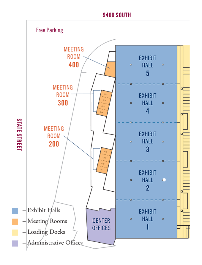 MAEC floor plan