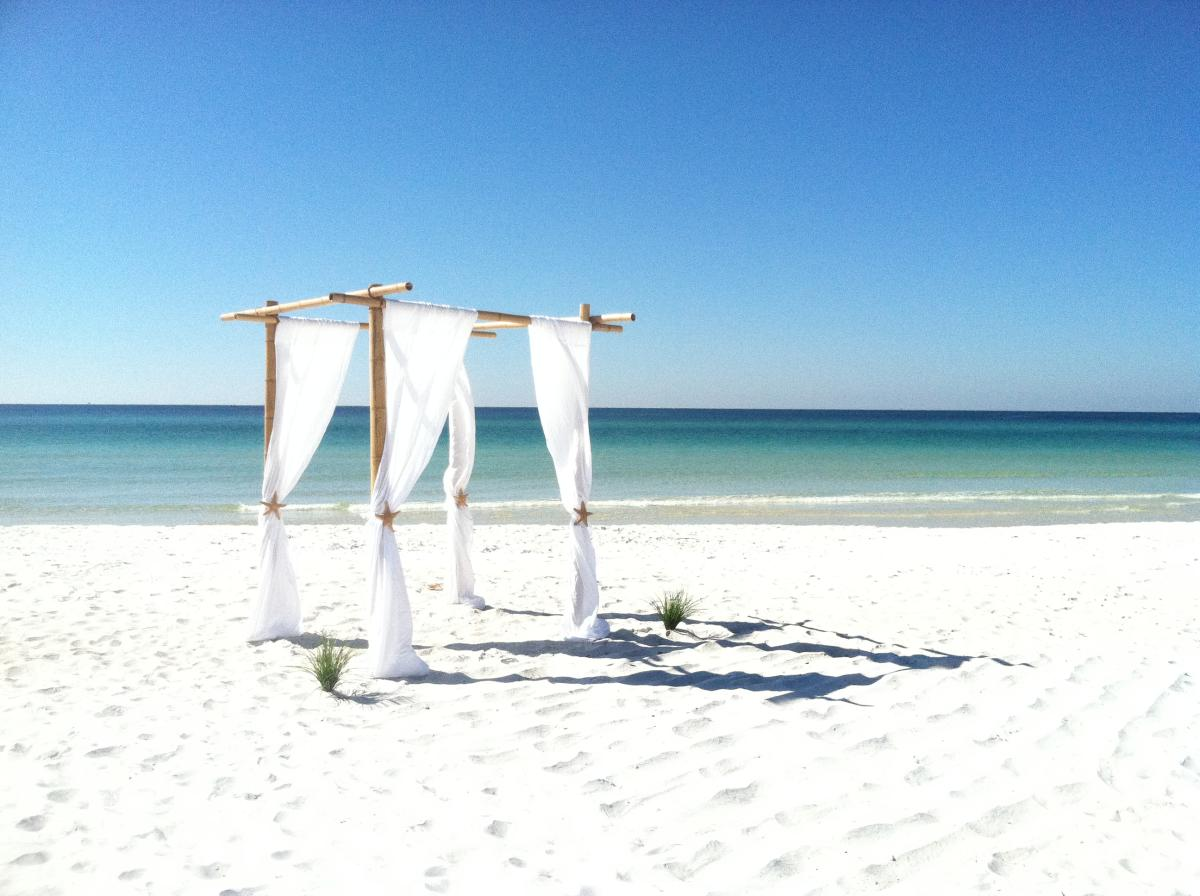 Beach Wedding Location Panama City Florida