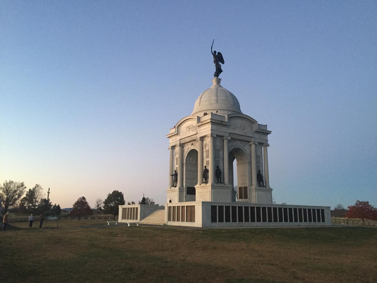 Gettysburg PA Monument