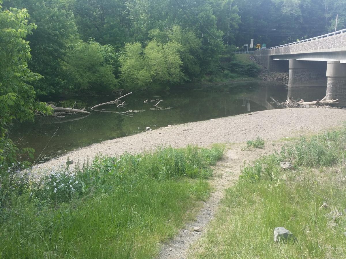Castle Valley Park path