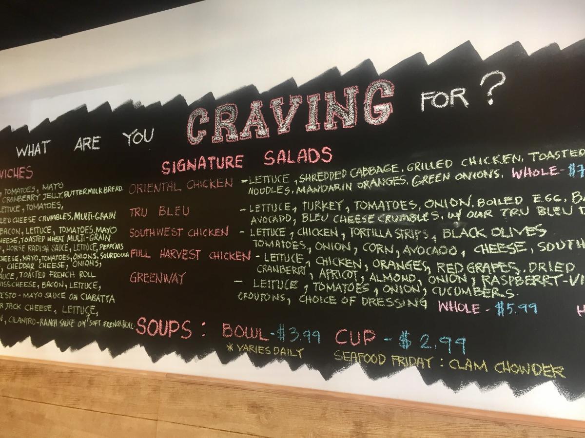 Cravings restaurant