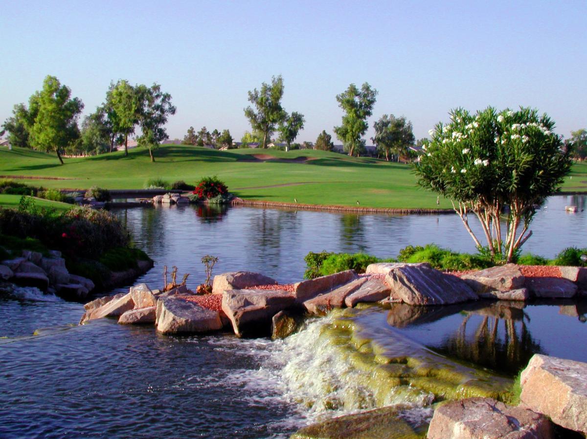 Ocotillo Falls at Ocotillo Golf Club