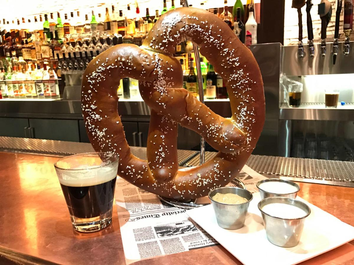 City Works Pretzel