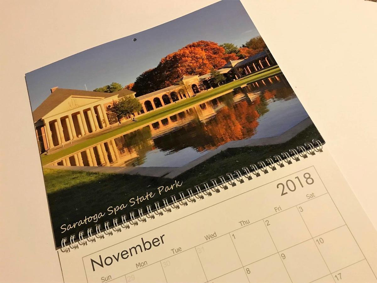 Frozen Moments Calendar