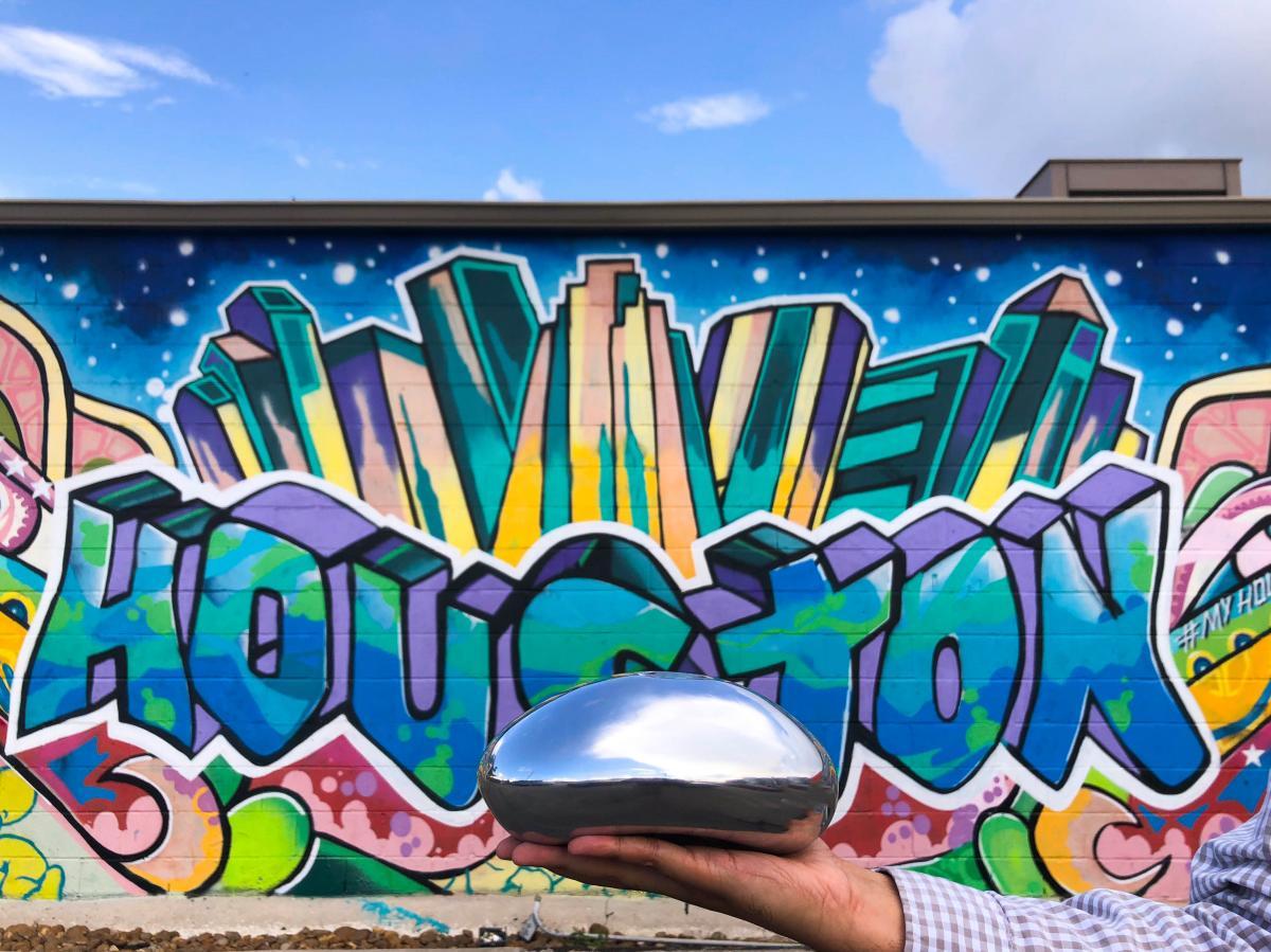 Chicago Bean at Graffiti Park