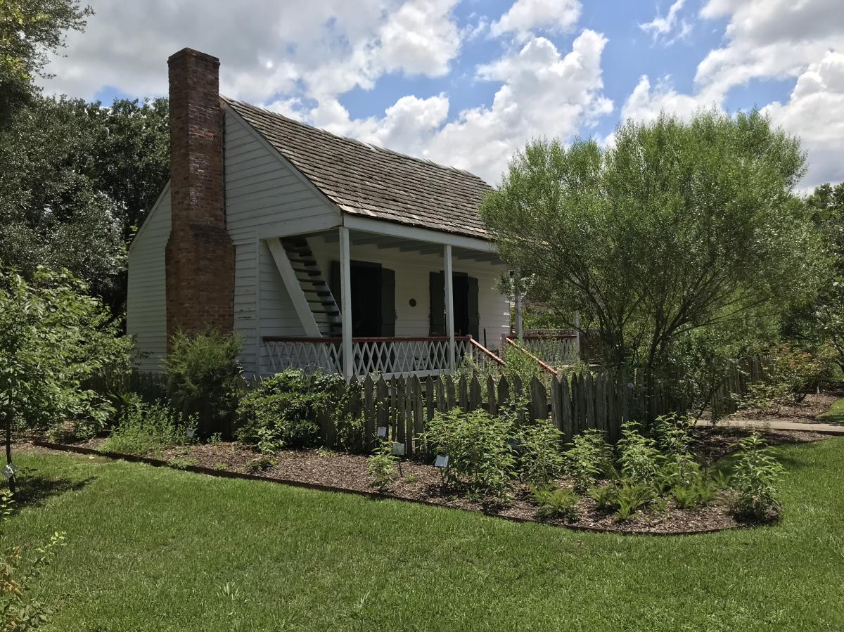 Vermilionville's Healer's Garden