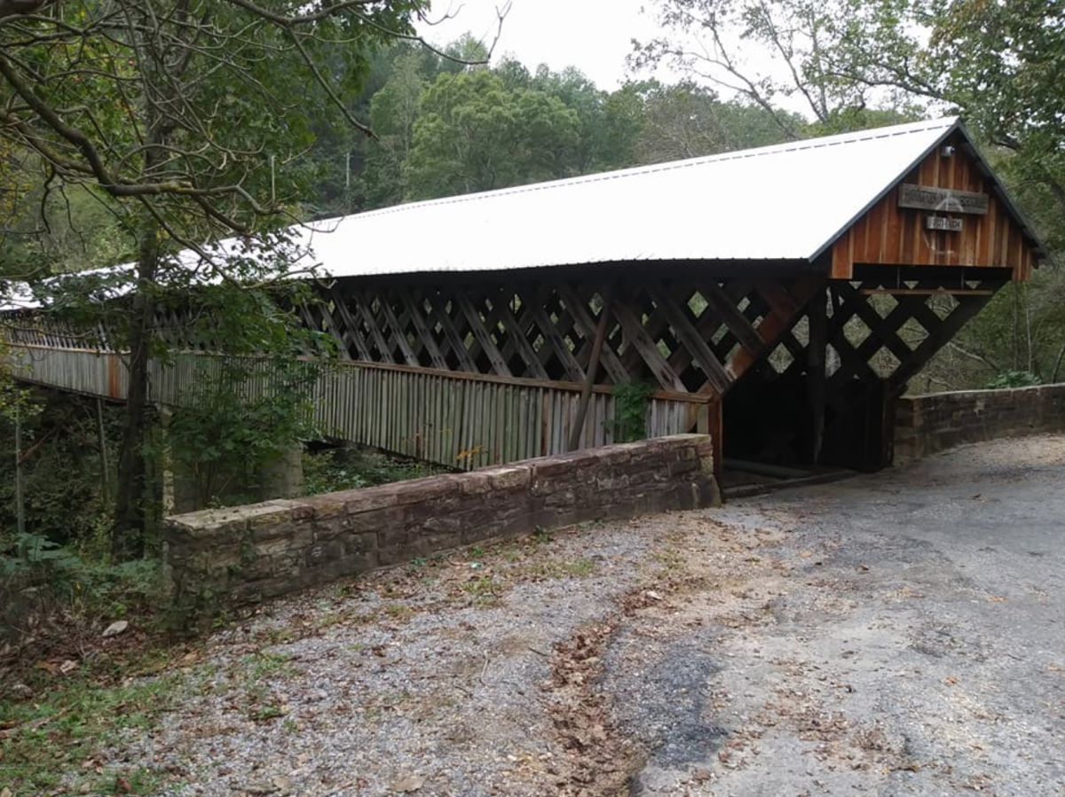 Horton Mill Covered Bridge – Oneonta, Blount County