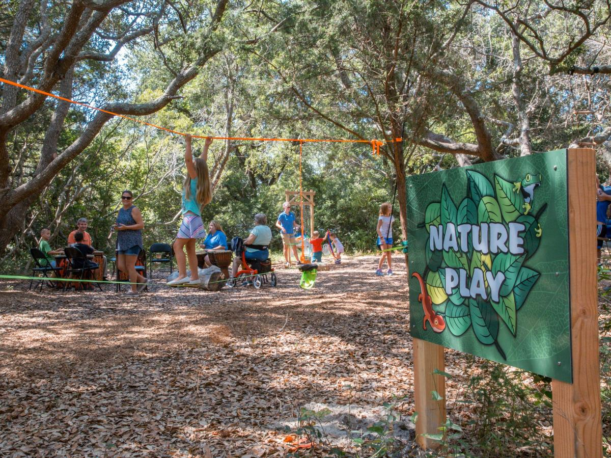 Nature Play at NC Aquarium at Fort Fisher