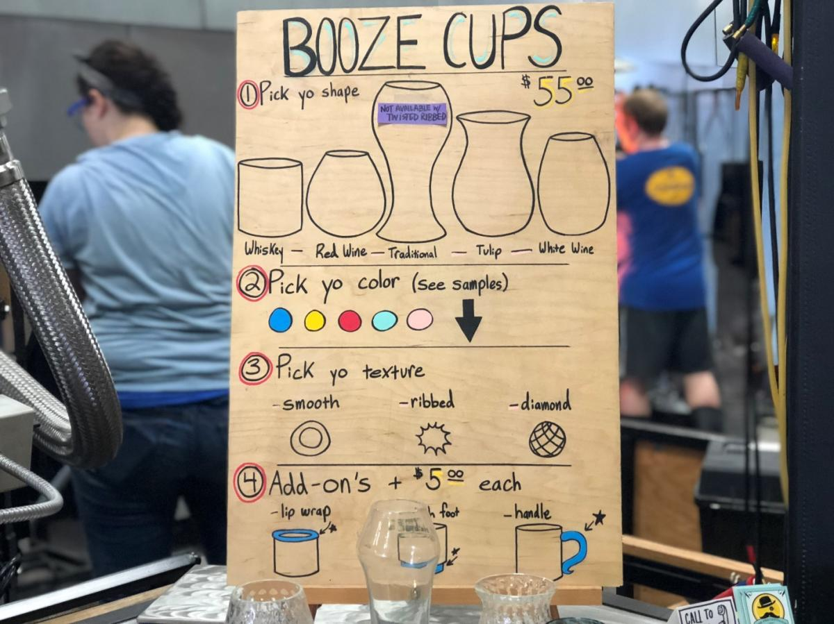 Booze cups