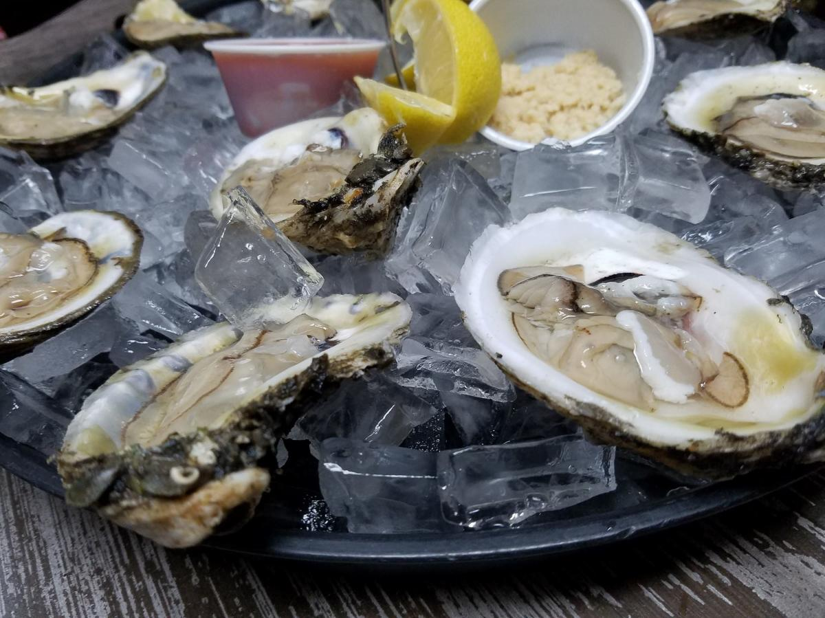Chastain's Oysters on the Half Shell