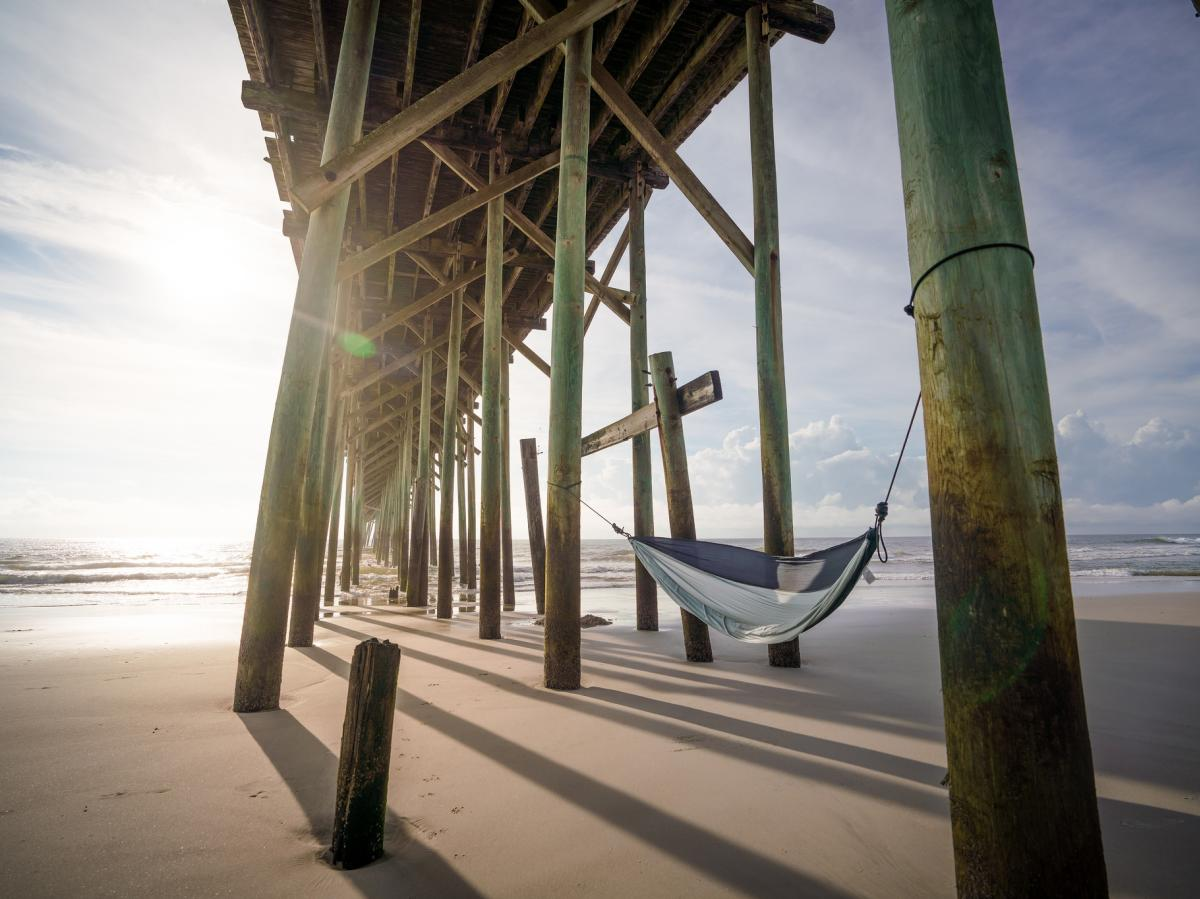 Carolina Beach Pier Hammock DRT