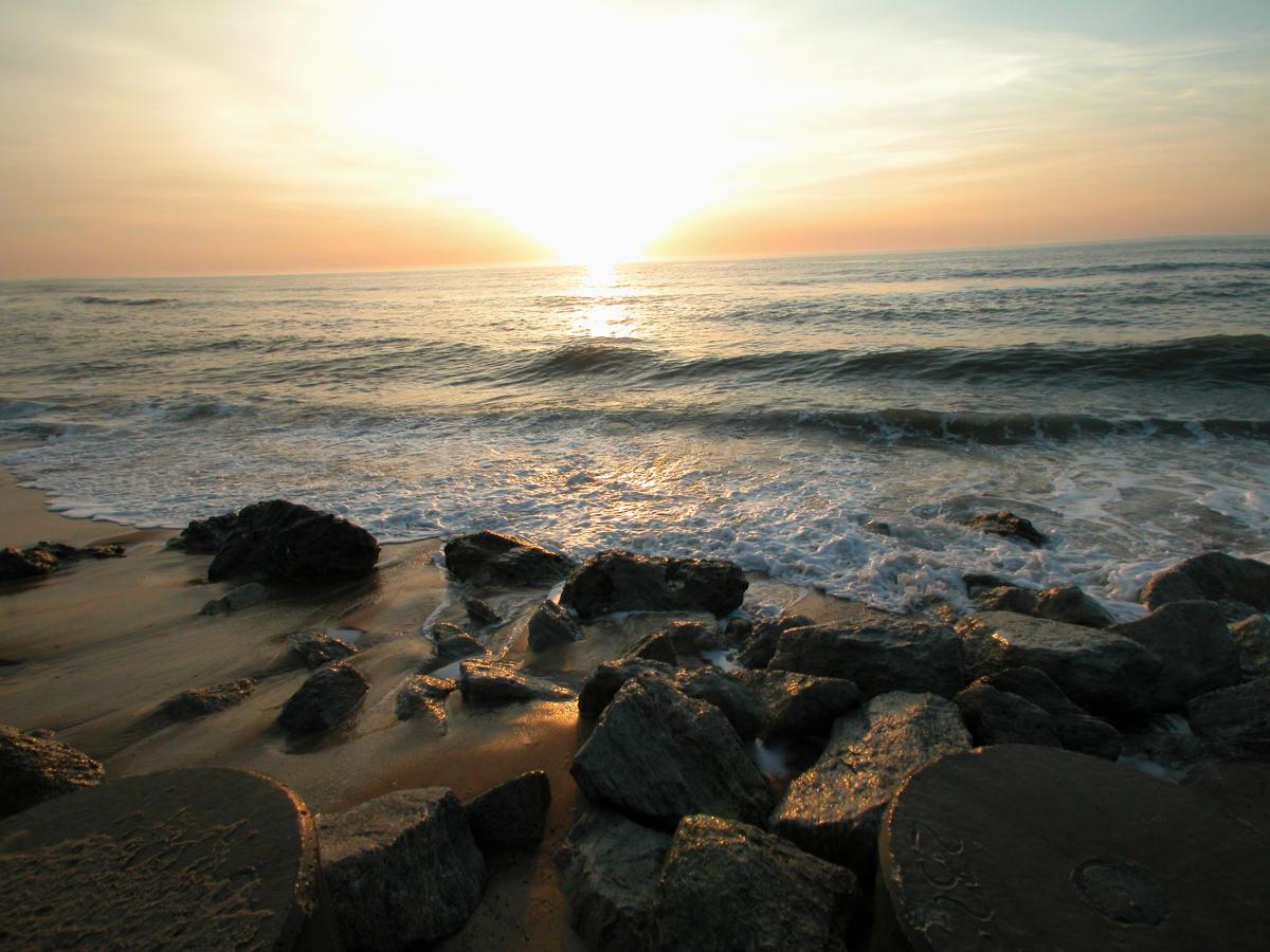 Kure Beach rocks