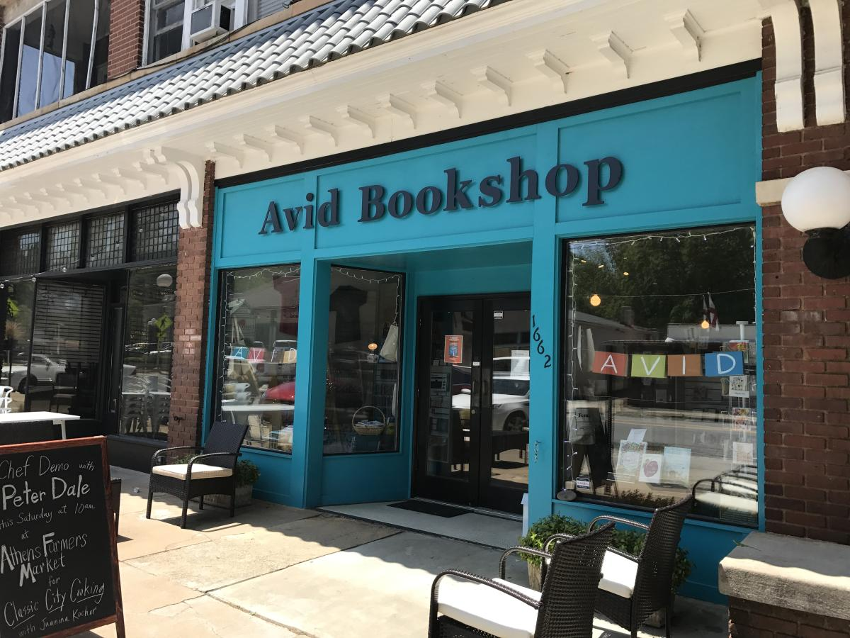 Avid Bookshop on Prince