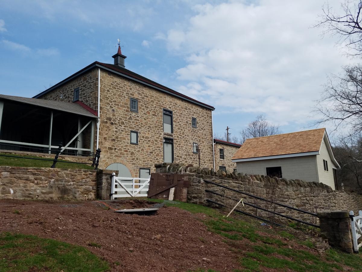 John James Audubon Barn and Raptor Building