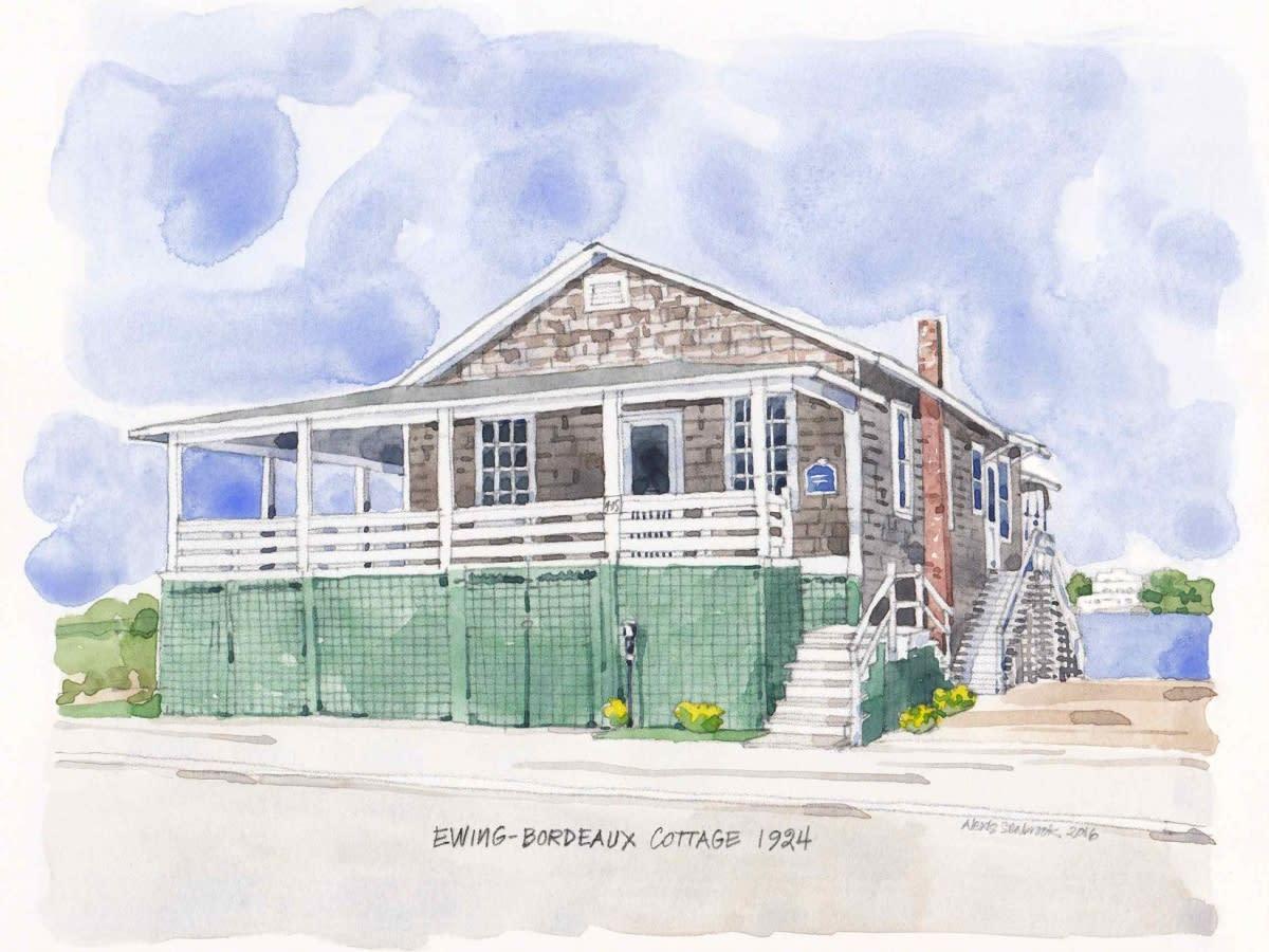 Ewing-Bordeaux Cottage Rendering