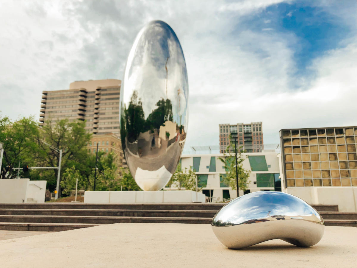 Chicago Bean at Museum of Fine Arts