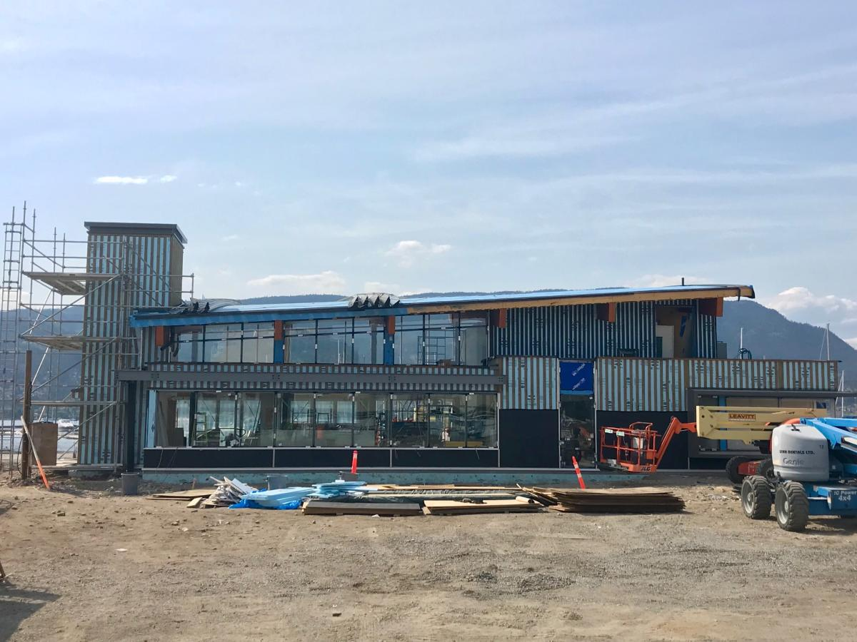 Photo of new Kelowna Visitor Centre