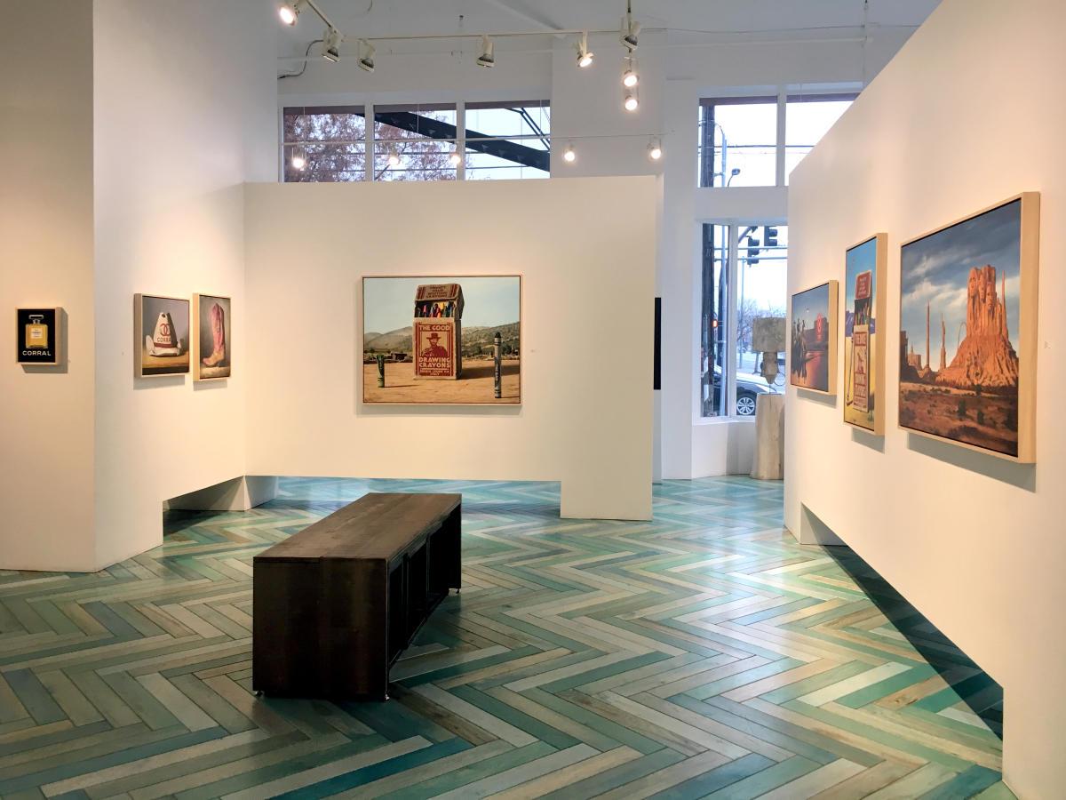 Ben Steele Exhibit at Modern West Fine Art