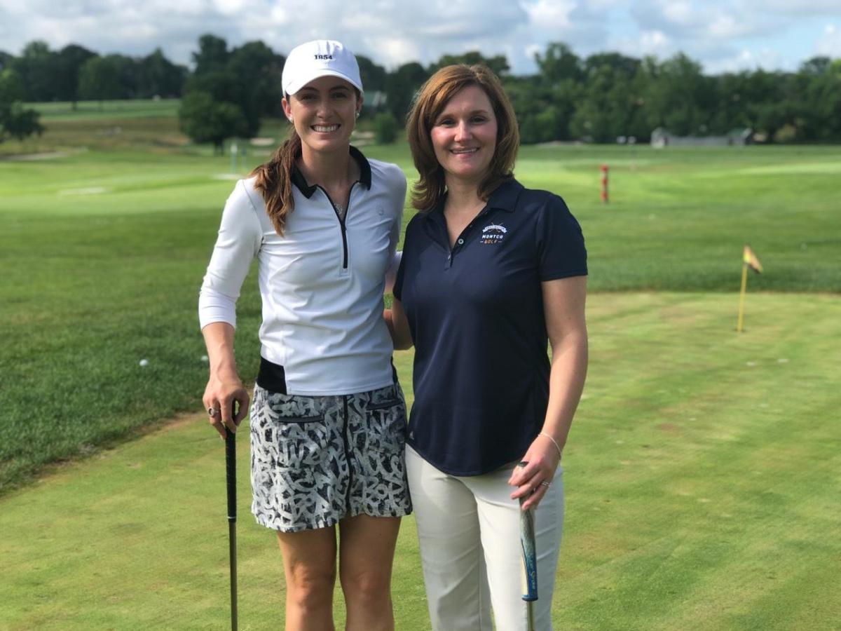 Golf Pro and Rachel 2