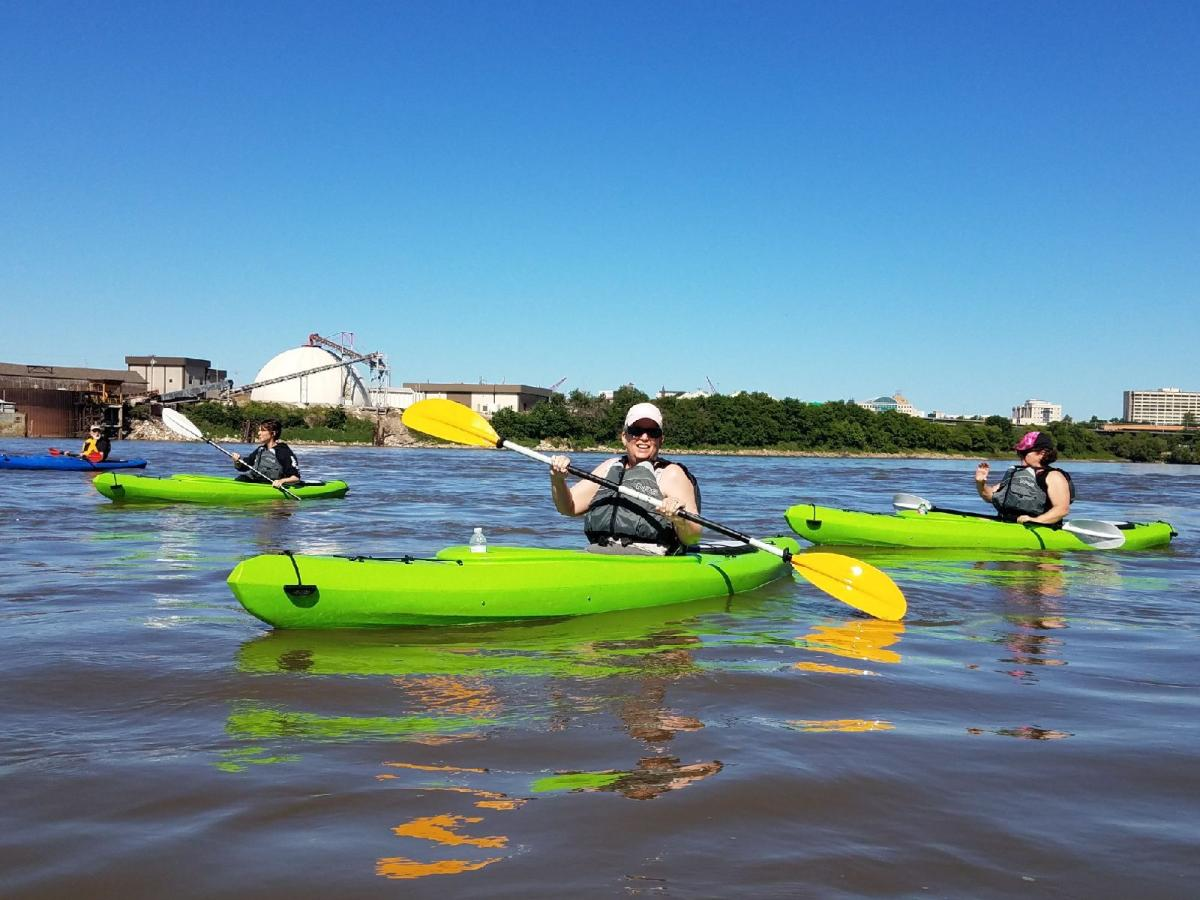 Kayaking Kansas River KCK