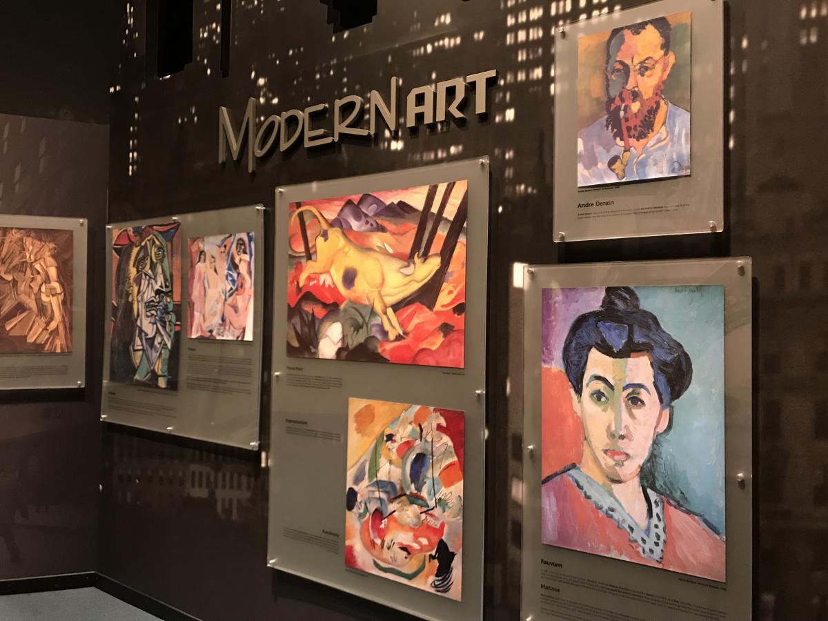 carley's adventure huntsville museum of art modern art