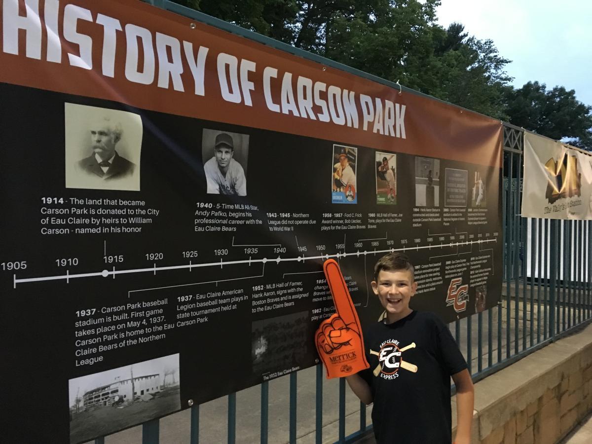 Carson Park MVP Experience