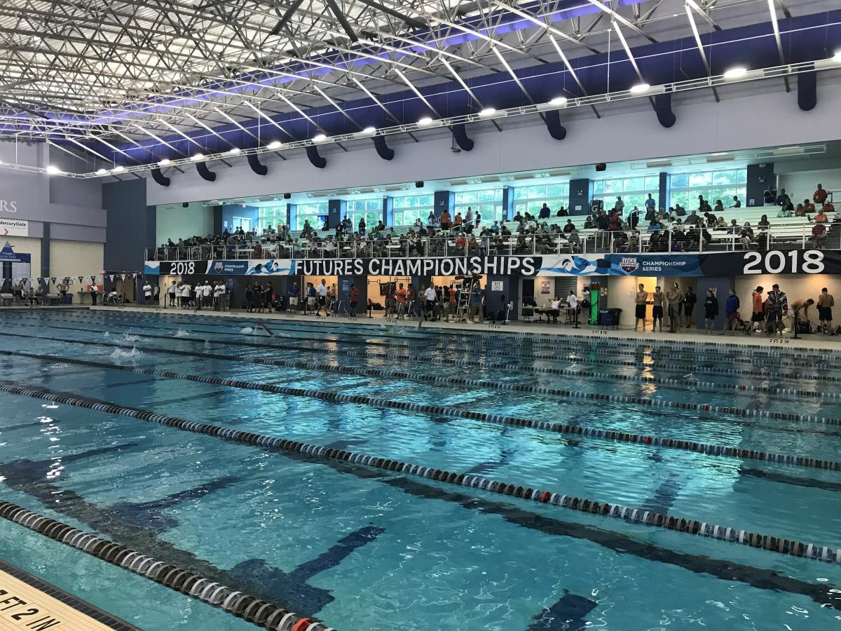 2018 USA Swimming Futures Championships at Triangle Aquatic Center