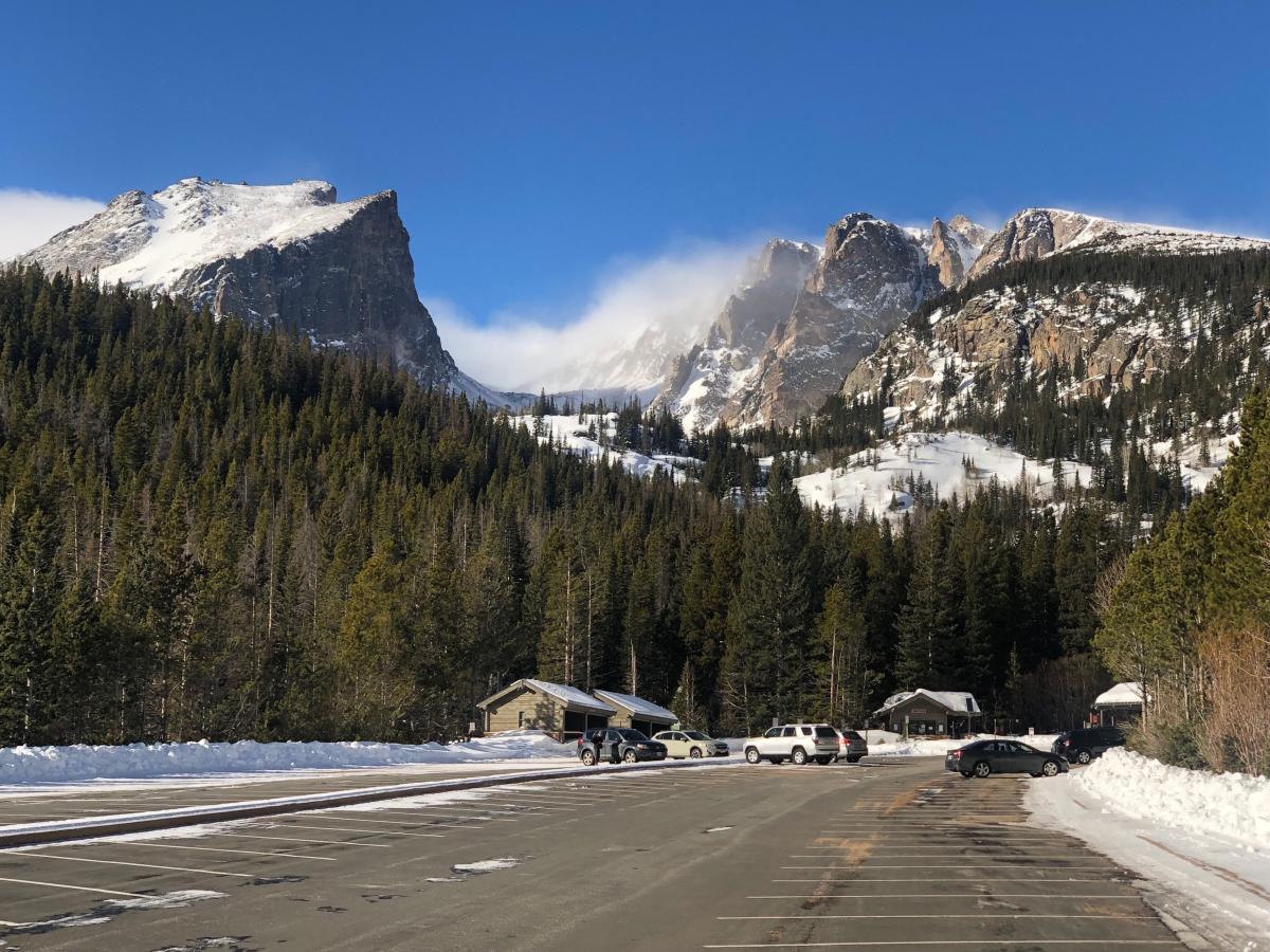 Bear Lake Parking Lot