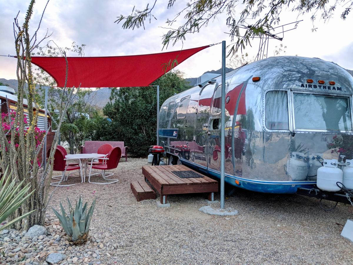 where to go glamping in greater palm springs
