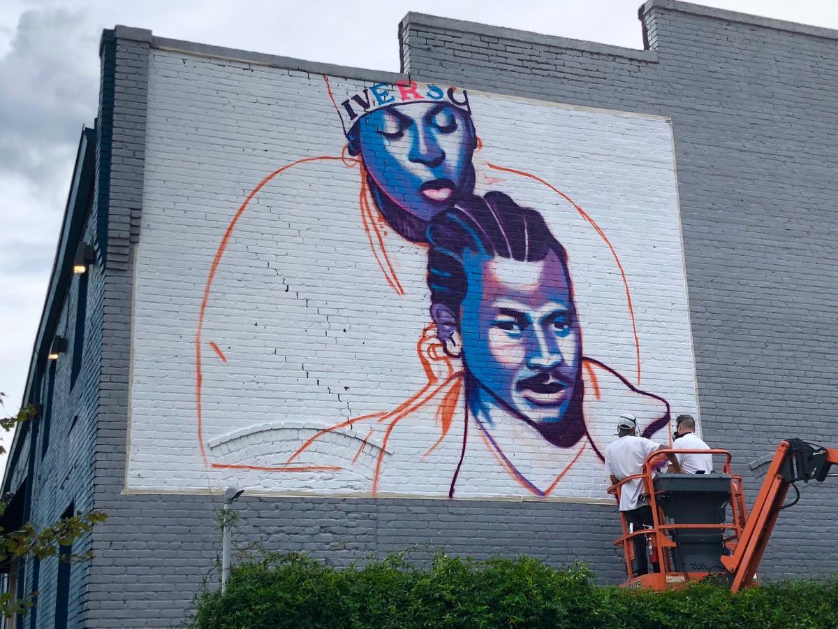 Stephen Powers ESPO mural