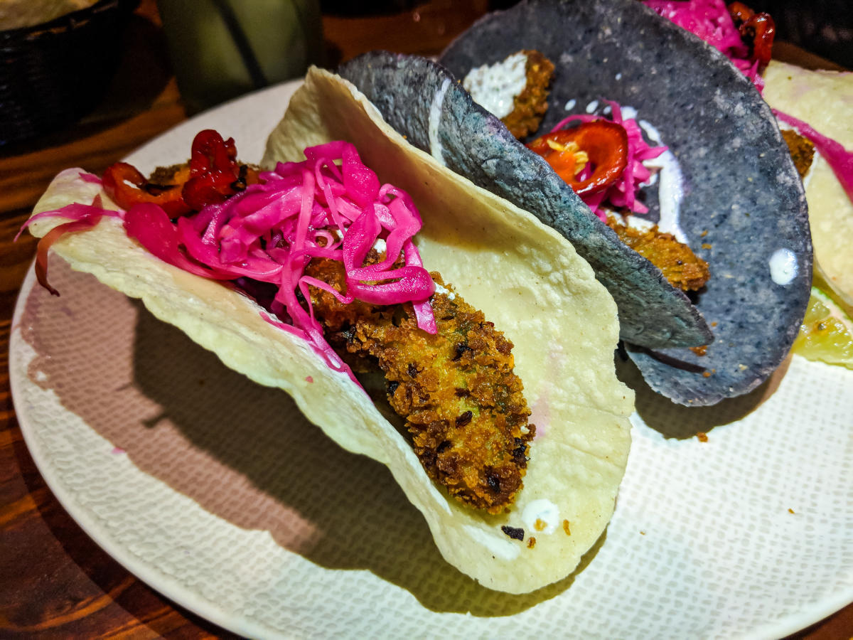 Tacos at Calle Onze
