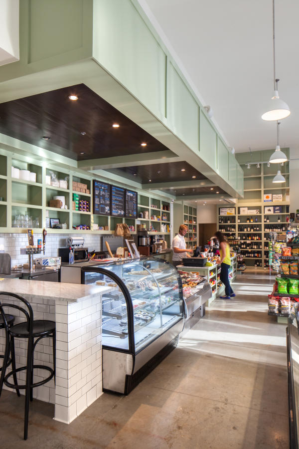 Deli counter at Royal Blue Grocery