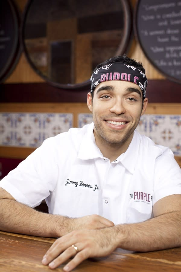 Chef Jimmy Bannos Jr. of The Purple Pig
