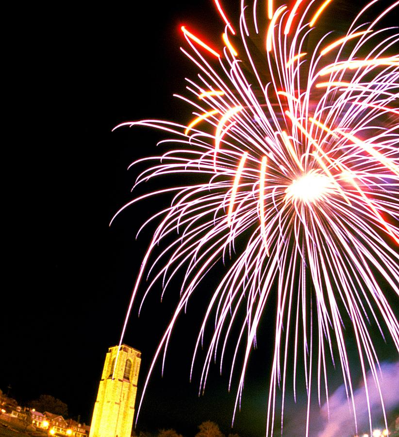 Fireworks at Baker Park