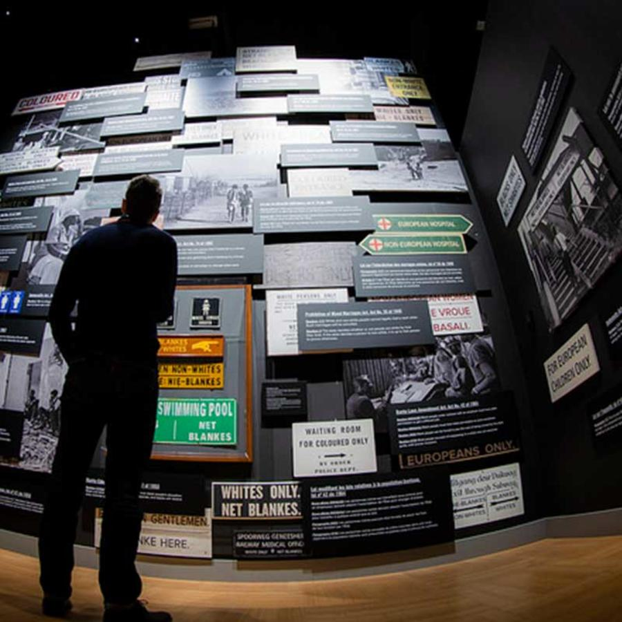 Exploring the Nelson Mandela: Struggle for Freedom exhibit at the Canadian Museum for Human Rights