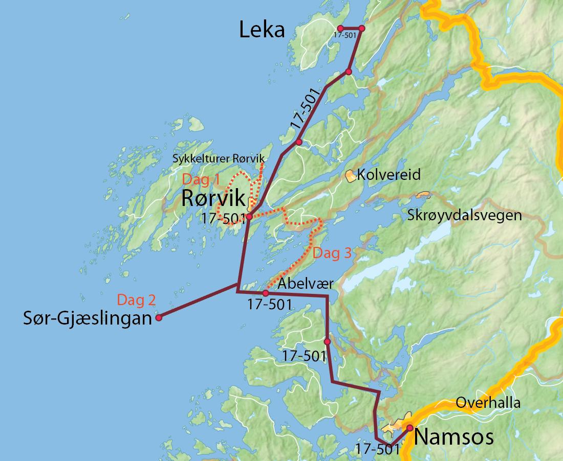 3-dagers tur Rørvik