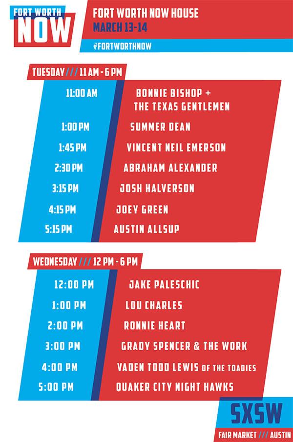SXSW Lineup