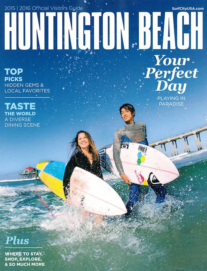 Huntington Beach Visitor Guide 2015